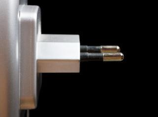 Twee pins stekker
