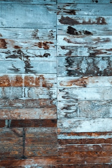 Twee rijen planken genageld. textuur
