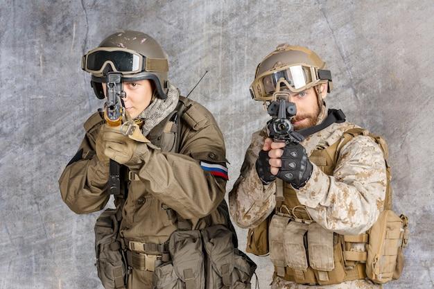 Twee speciale strijdkrachten