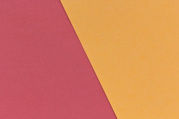 Tweekleurige kleur papier achtergrond