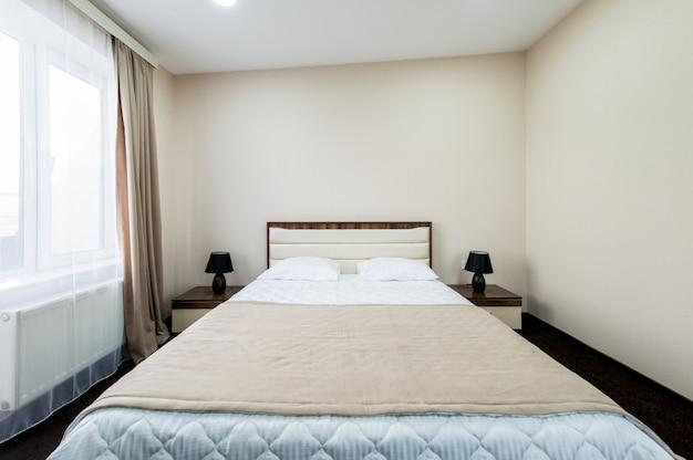 Tweepersoonskamer in het hotel