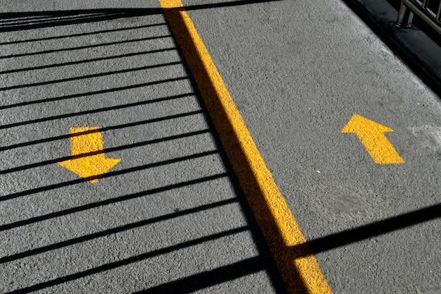 Tweerichtingsverkeerpijlen