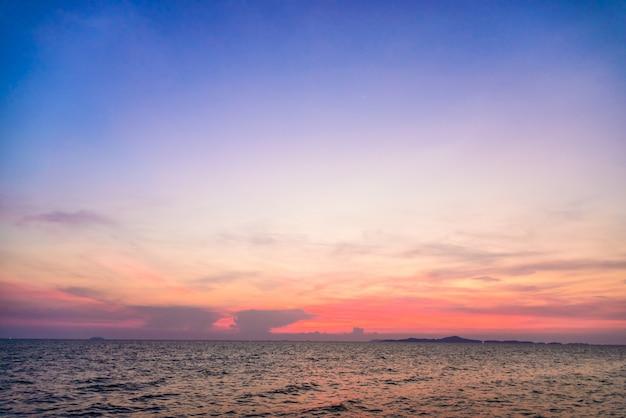 Twilight cloud