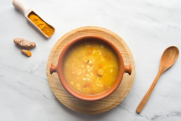Typische indiase soep