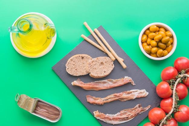 Typische ingrediënten van spanje