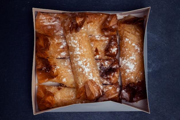 Typische portugese snoepjes pasteis de tentugal