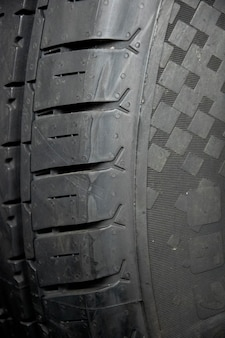 Tyre textuur close-up achtergrond.