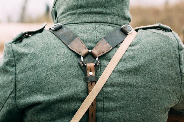 Uitrusting en uniformen van de duitse soldaat