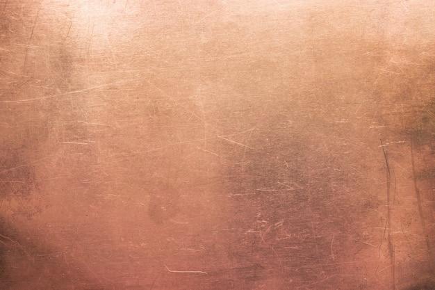 Uitstekende bronstextuur, achtergrond van oude metaalplaat
