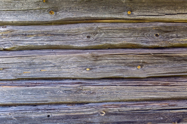 Uitstekende houten achtergrond met horizontaal bladderende verf