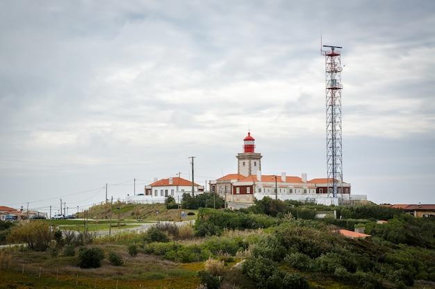 Uitzicht op cabo da roca dat het meest westelijke deel van het vasteland vormt