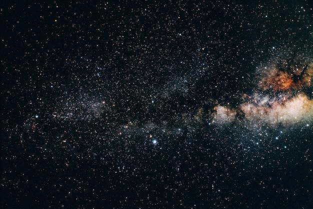 Uitzicht op de aarde vanuit de ruimte