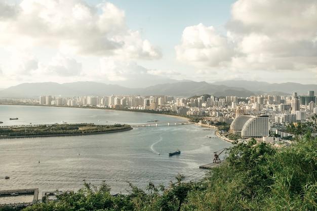 Uitzicht op de prachtige stad