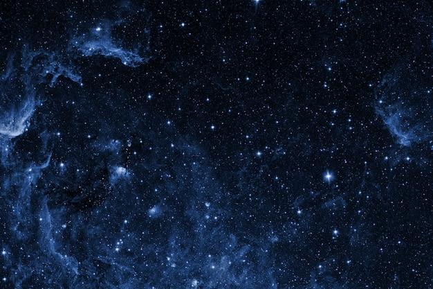Uitzicht op de spase van de maan.