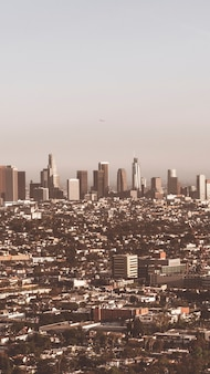 Uitzicht op de stad los angeles mobiele telefoon wallpaper