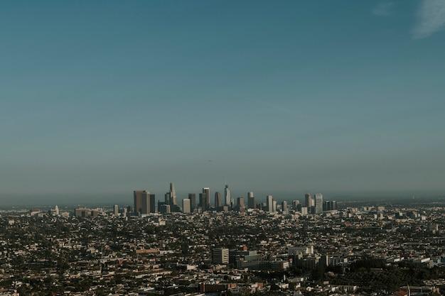 Uitzicht op de stad los angeles, vs