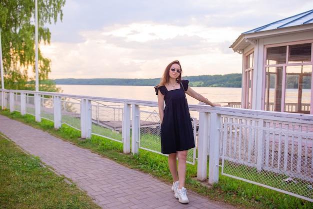 Uitzicht op de stad plyos, rusland