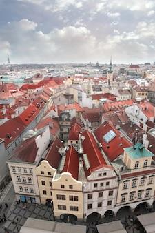 Uitzicht op een mooie stad