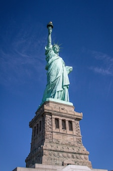 Uitzicht op het vrijheidsbeeld