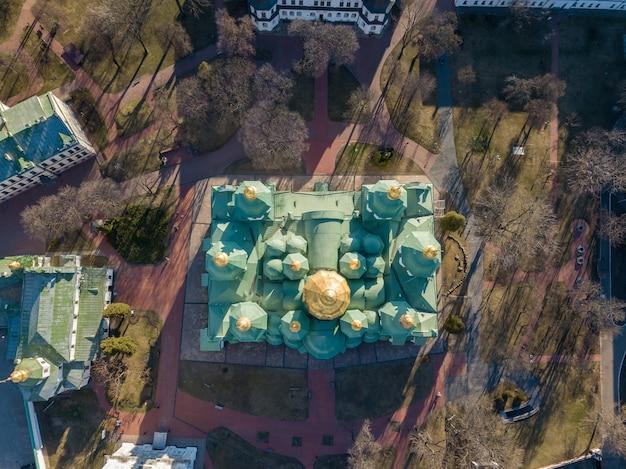 Uitzicht vanaf de top van het kerkhof