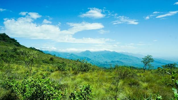 Uitzichtpunt van indiase berg