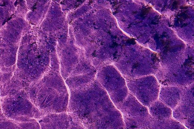 Ultraviolet patroon van rimpelgolf met zonreflectie
