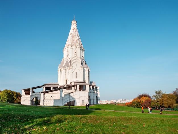 Unesco moskou kolomenskoye recreatie in de kolomenskoye museu