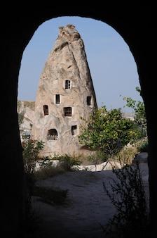 Unieke geologische formaties, cappadocië, turkije