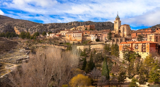 Unieke stad albarracin