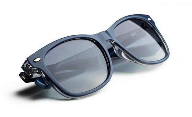 Unisex donkere zonnebril geïsoleerd