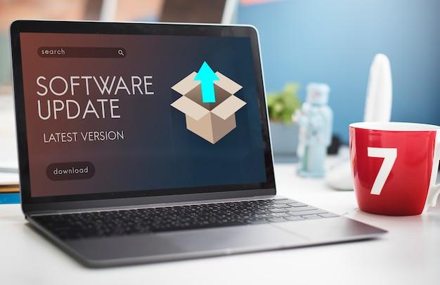 Upgrade update nieuwe versie beter grafisch concept