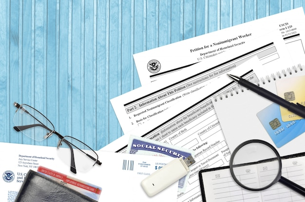 Uscis formulier i-129 petition for a nonimmigrant worker