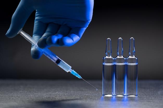 Vaccinatie concept detail