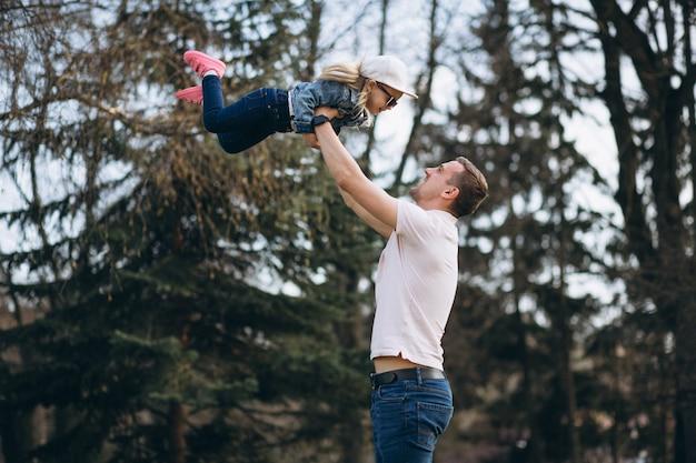 Vader en dochter plezier