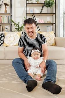 Vader tijd doorbrengen met dochter