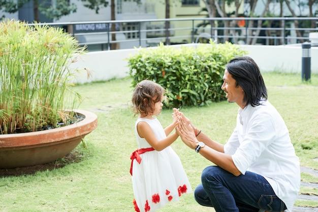 Vader tijd doorbrengen met kind
