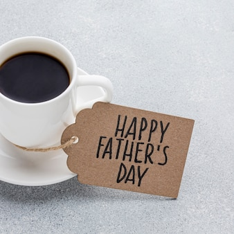 Vaderdag arrangement met koffiekopje