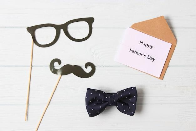 Vaders dag achtergrond op lichte achtergrond close-up