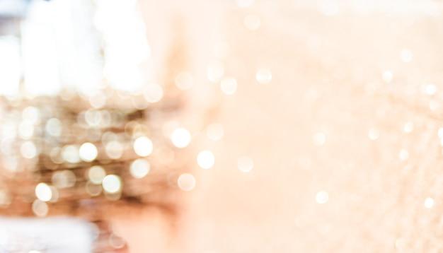 Vage abstracte achtergrond, bokeh-licht, het fonkelende thema van de huwelijksontvangst