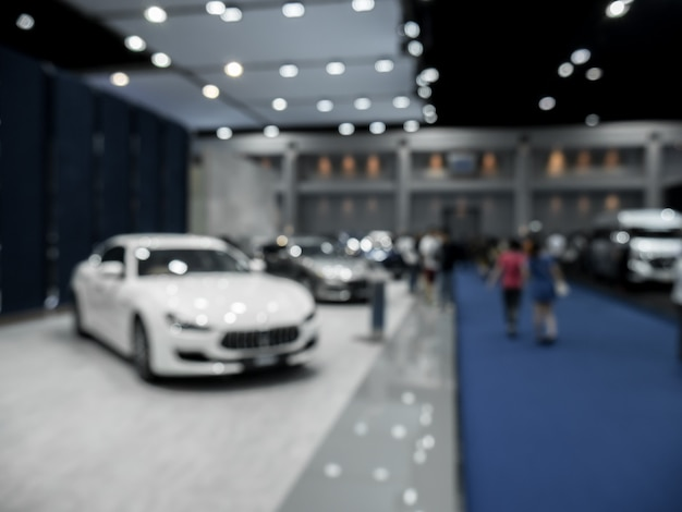 Vage samenstelling bij de autoshow