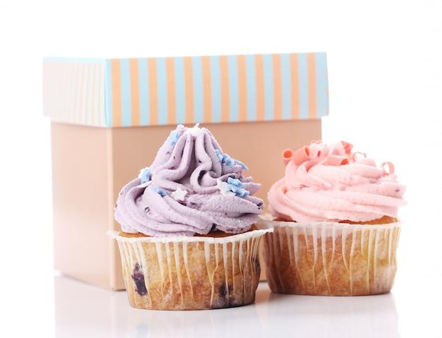 Vakantie cupcakes