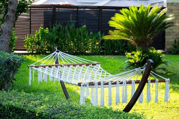 Vakantie en vakantieconcept hangmat voor ontspanning