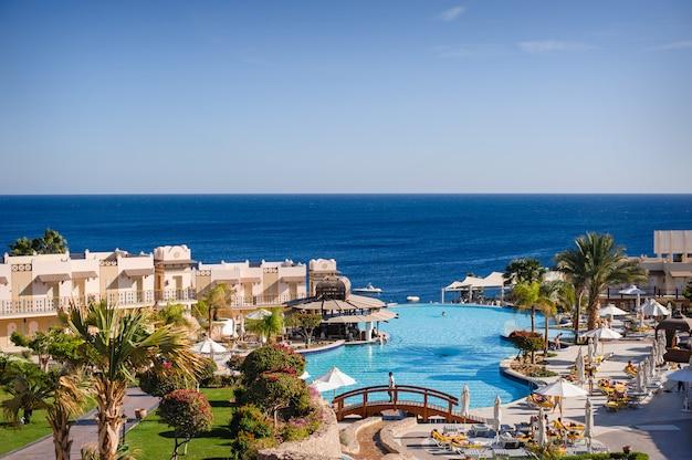 Vakantie in egypte uitzicht op zee