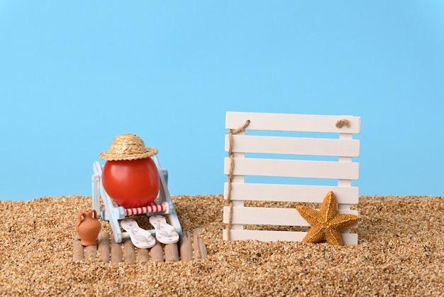 Vakanties op het strand.