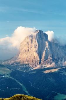 Val gardena-bergen
