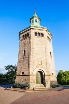 Valbergtarnet of valberg-toren in stavanger, noorwegen