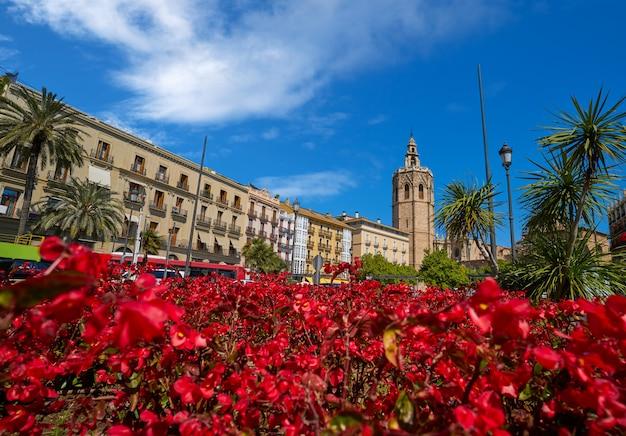 Valencia plaza de la reina plein miguelete
