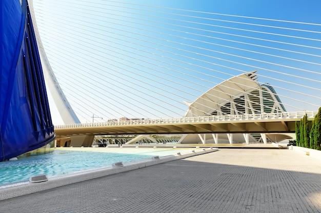 Valencia, spanje stad van kunsten en wetenschappen