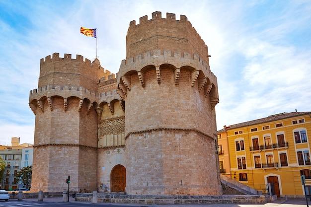 Valencia torres de serranos-toren