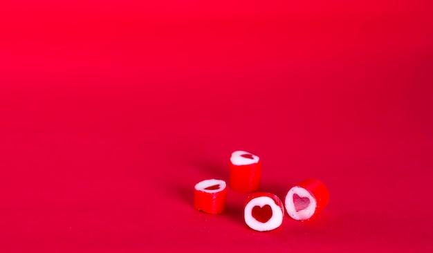 Valentijns snoep